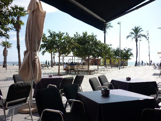 Cavamar barcelona la barceloneta restaurant for 52 table view