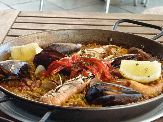 Cavamar : seafood paella