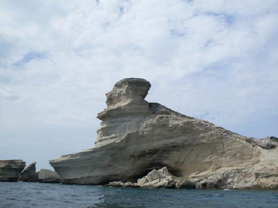 Reserve Naturelle des Bouches de Bonifacio: Falesie