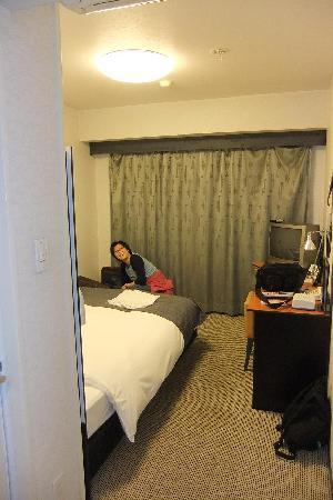 Hotel Villa Fontaine Otemachi: Reasonable size rooms