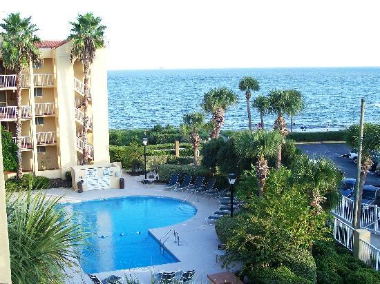The King and Prince Beach and Golf Resort: The view from our balcony