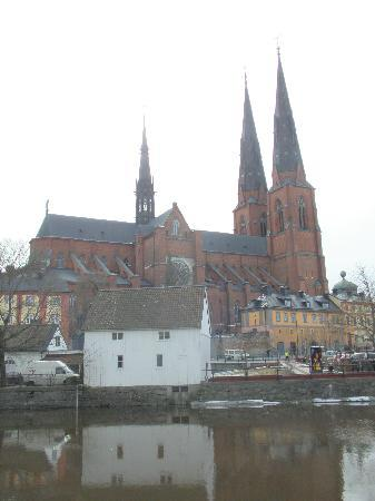 Uppsala Domkyrka: こちら側からの景色が良いです