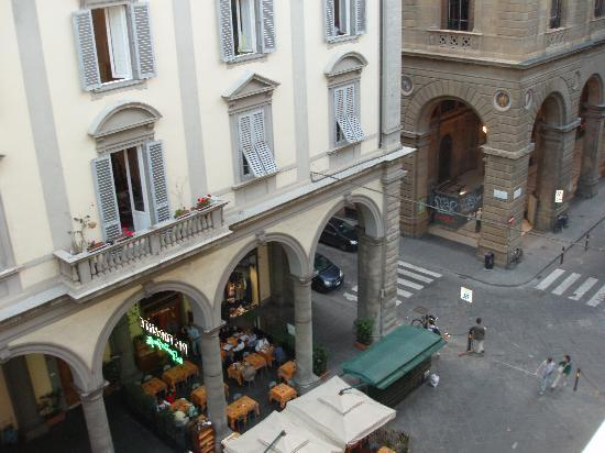 """Relais Cavalcanti: The view from our room,  """"Michelangelo"""""""