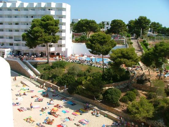 Hotel Marina Skorpios: la plage et le corfu