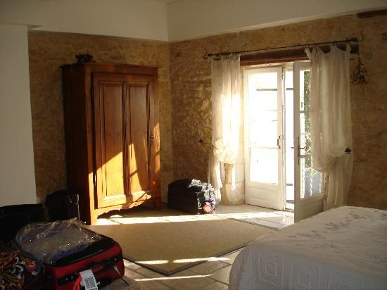 """Domaine de Clairefontaine : Our room """"Claude"""" which we loved."""