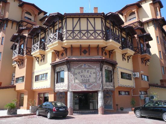 Villa Side Hotel: Eingang zur Villa
