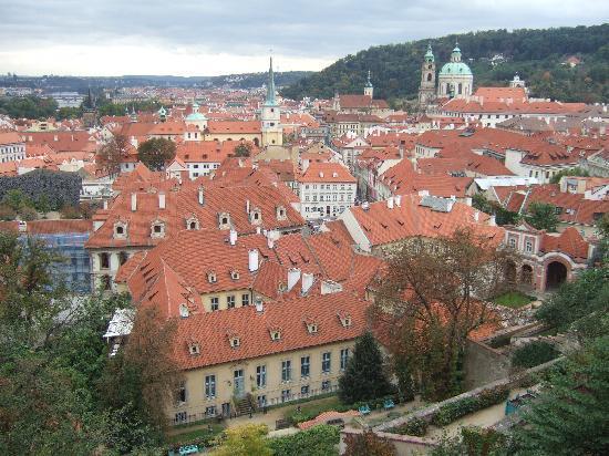 Residence Verona: Prague roof tops.