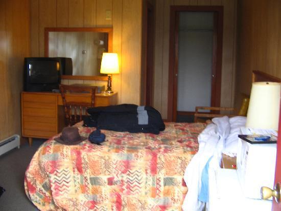 Baileyville, ME: Notre chambre porte #6