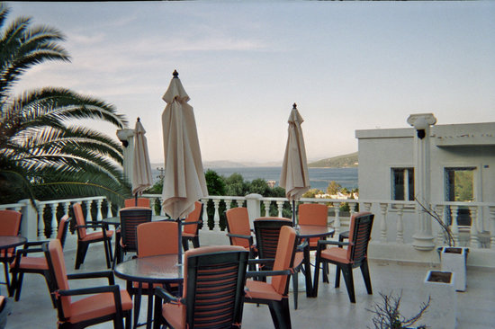 Hotel Olivia: view from the hotel terrace