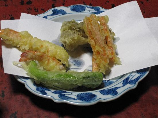 Traditional Kyoto Inn Serving Kyoto Cuisine IZUYASU: Tempura