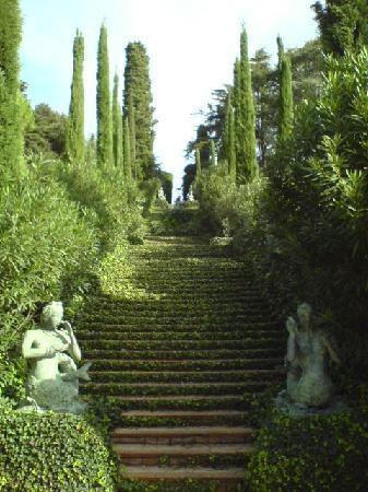 Hotel Samba : Holiday highlight! Jardins de Santa Clotilde, Lloret de Mar