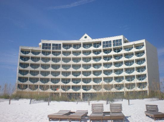 Holiday Inn Express Pensacola Beach Photo Taken From The All Rooms Are Gulf