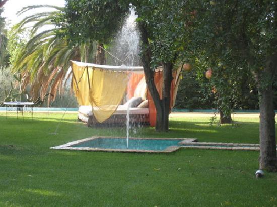 El Bulli Hotel - Hacienda Benazuza: Dans le jardin