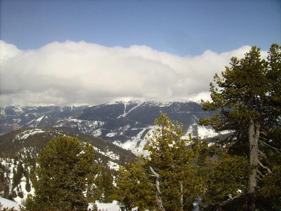 Hotel Turracherhof: Mountain view