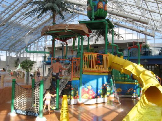 Americana Resort: jeux d'eau