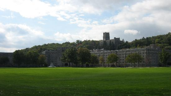 United States Military Academy : View Of The Plain