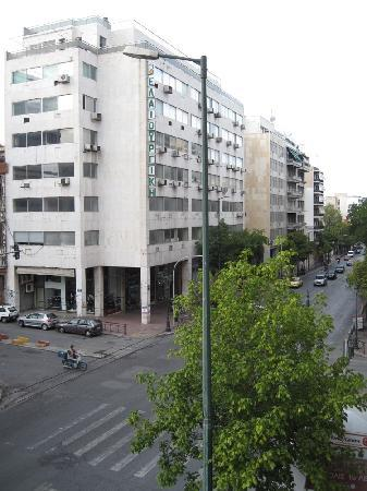 Athens Odeon Hotel: View from our room