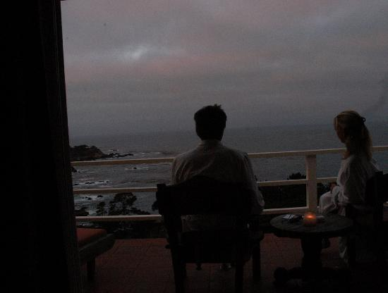 Tickle Pink Inn: early morning luxury