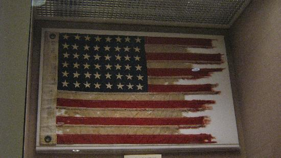 John F. Kennedy Presidential Museum & Library: Flag From The PT109