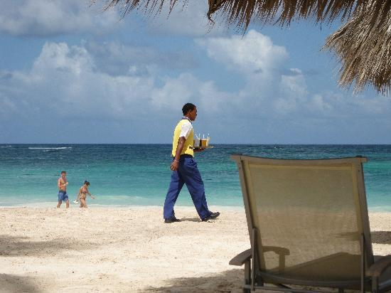 Iberostar Grand Hotel Bavaro: Beach waiters were our best friend!