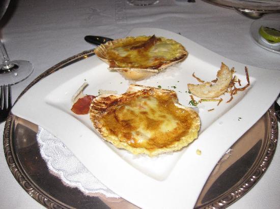 Iberostar Grand Hotel Bavaro : Scallops Au Gratin...YUM!!!