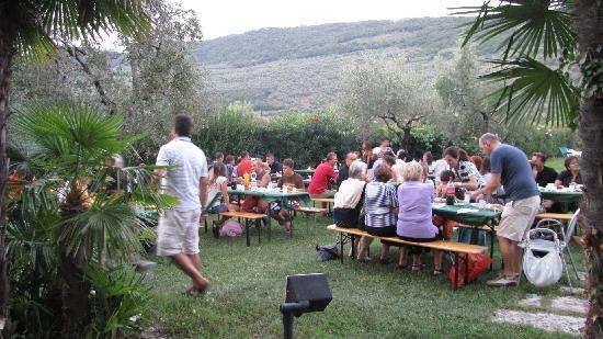Residence Monica: barbecue du 15 août
