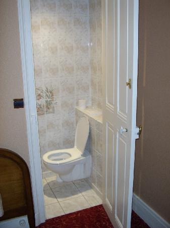 Best Western Central Hotel : Toilet in cupboard