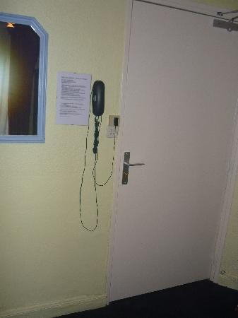 Hotel De La Buffa : Room Entrance
