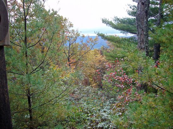 Galax, Wirginia: View from Cabin