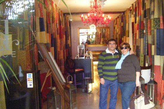 Ad Place Venice: La entrada del hotel