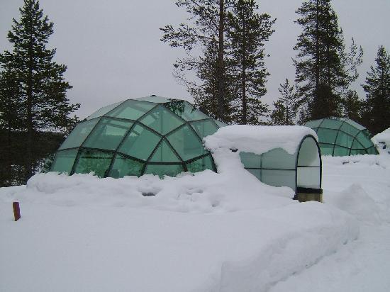 Kakslauttanen Arctic Resort: Our Glass Igloo