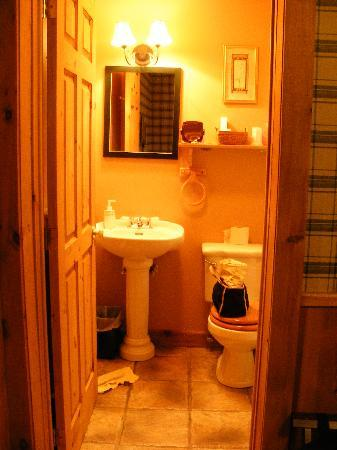Auberge du Trappeur : salle de bain