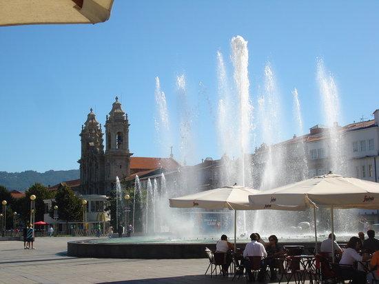 Braga, البرتغال: Praça da Repùblica