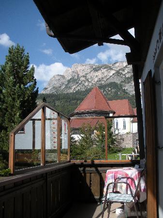 Garni Crepaz : balcony view