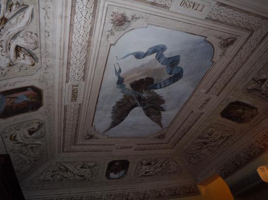 Hotel Stella Maris : Ceiling in room