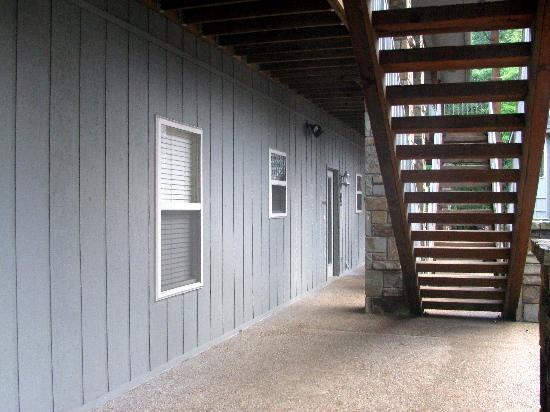 Los Lagos at Hot Springs Village: Our unit 84b, under the stairs, first floor
