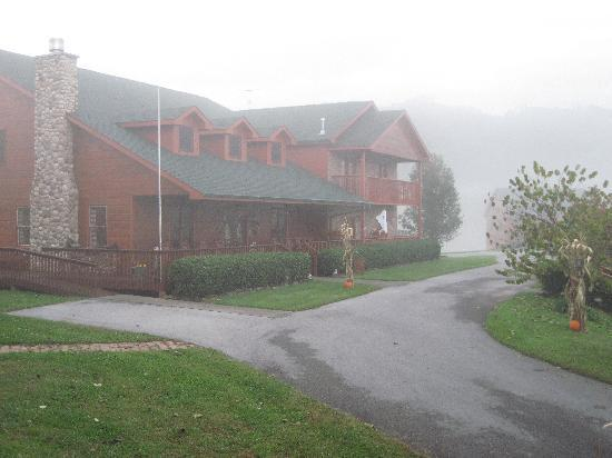 Berry Springs Lodge: A Misty View of the B&B