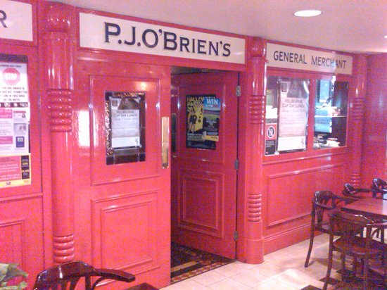 PJ O'Brien's Sydney - Entrance to the Pub inside Grace Hotel