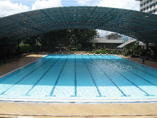 Horison Bandung: The Olympic Size Swimming Pool At Horison