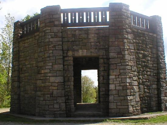 Allegany State Park Campground: Stone Tower off Hiking Trail