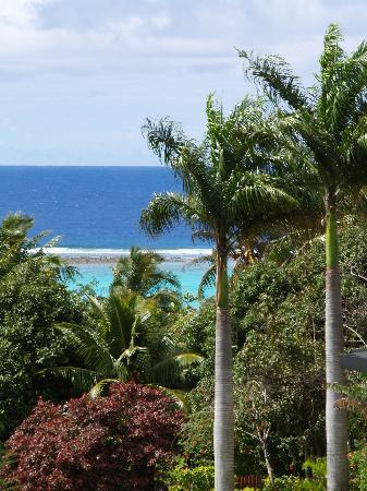 Muri Retreat: View from the balcony