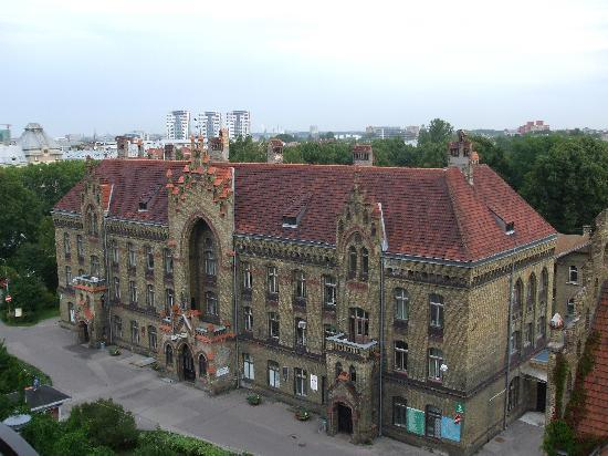 City Hotel Teater : Rooftop view from restaurant
