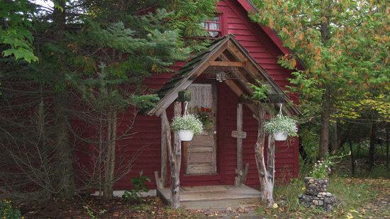 Whispering Waters: Cabin Entry