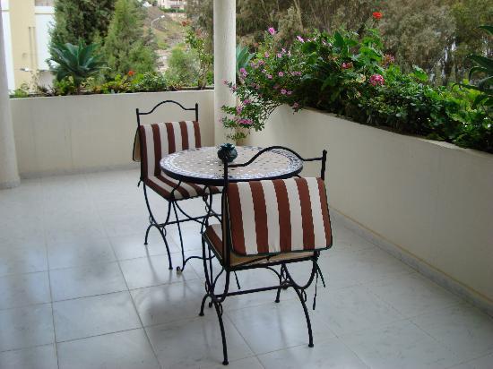 Dar Nilam : Balcony