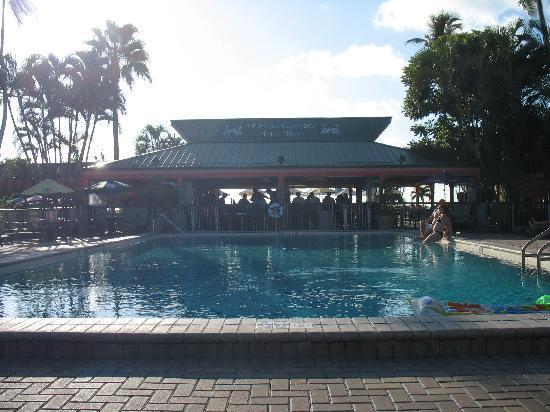 Tiki Bar Pool Foto De Wyndham Garden Fort Myers Beach Fort Myers Beach Tripadvisor