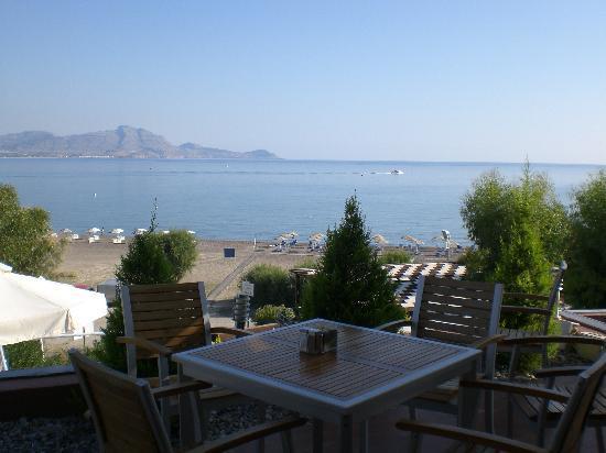 Lindian Gulf: Panorama dall'hotel