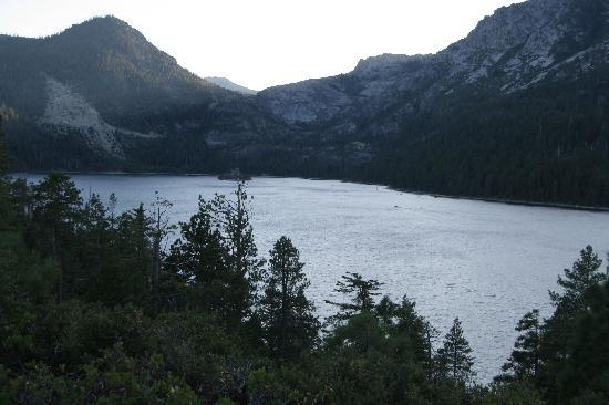 Emerald Bay Campground : View from campground trail
