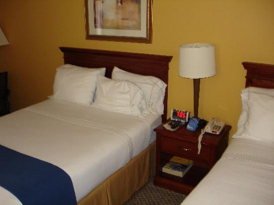 Holiday Inn Express Hotel & Suites Jacksonville South: Bed