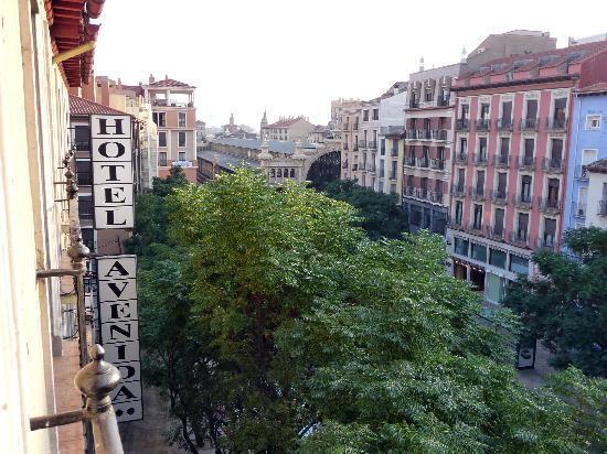 Hotel Avenida: vistas desde la habitacion