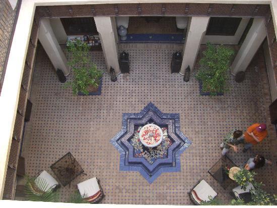 Riad le Clos des Arts : from balcony
